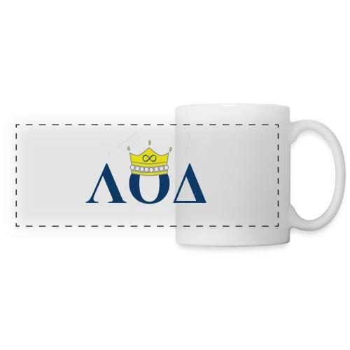 Crown Letters - Panoramic Mug
