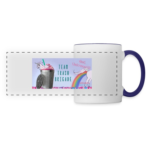 trash brigade unicorns - Panoramic Mug