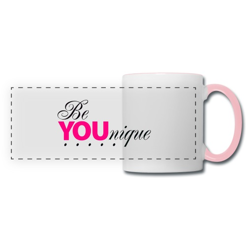 Be Unique Be You Just Be You - Panoramic Mug