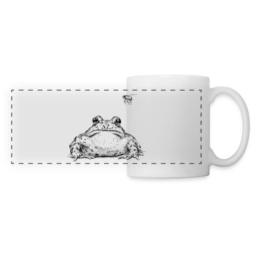 Frog with Fly by Imoya Design - Panoramic Mug