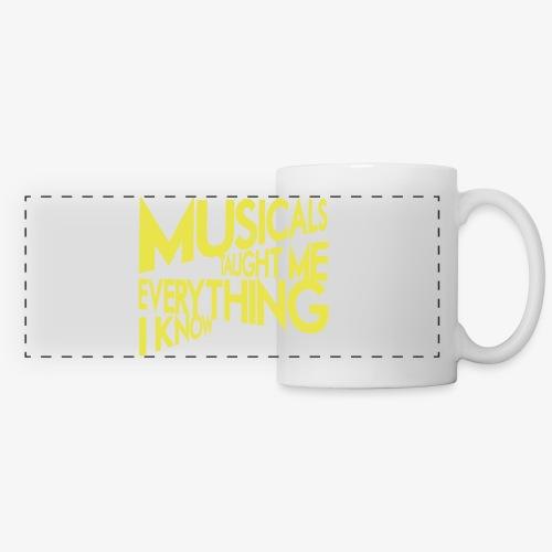 MTMEIK White Logo - Panoramic Mug