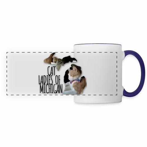 Cat Ladies of Michigan - Panoramic Mug