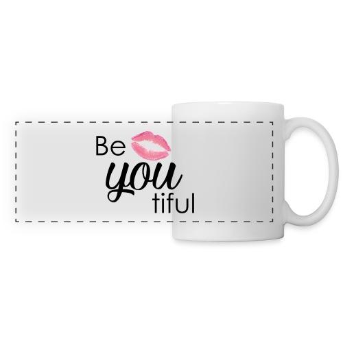 Be-You-Tiful Lip Logo - Panoramic Mug