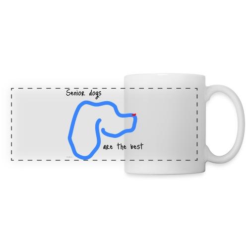 Senior Dogs are the Best - Panoramic Mug