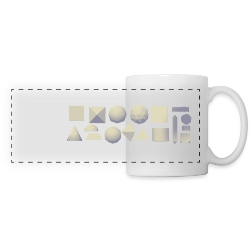 Anyland shapes - Panoramic Mug