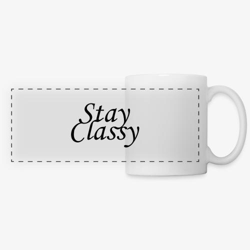 Stay Classy - Panoramic Mug