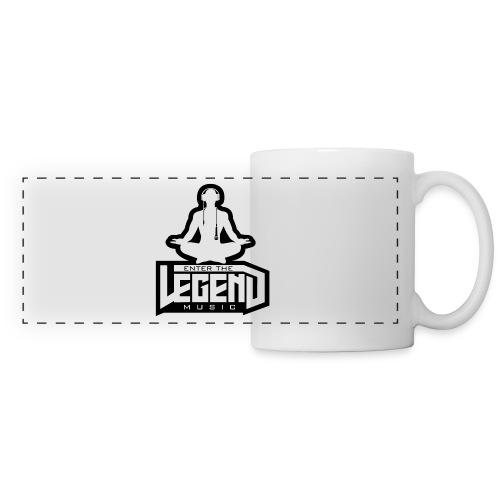 Enter The Legend Music B/W - Panoramic Mug