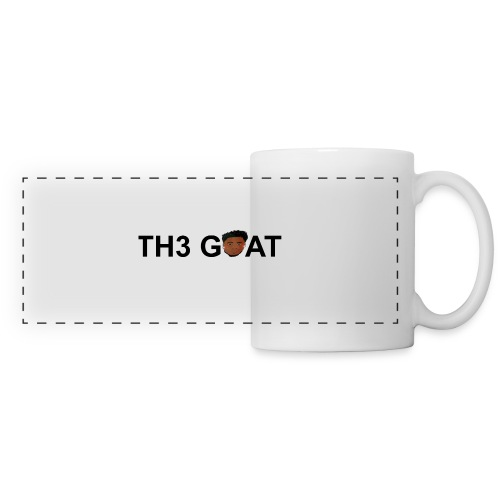The goat cartoon - Panoramic Mug
