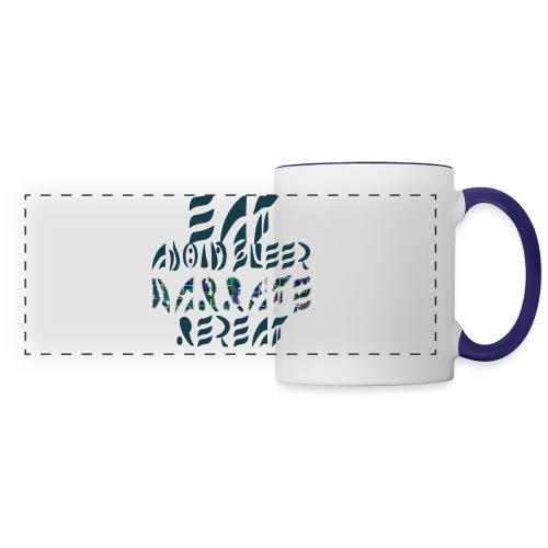 Eat Sleep Narrate Repeat - Panoramic Mug