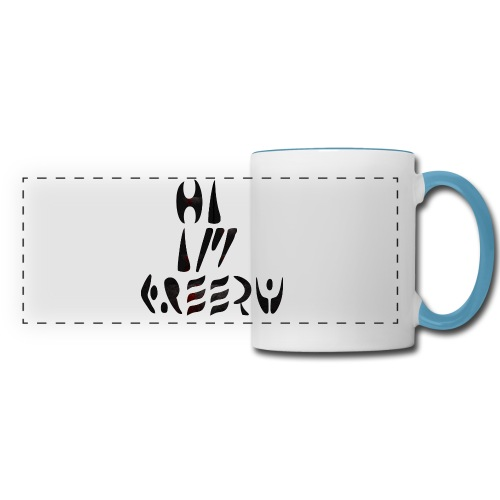 hi im creepy - Panoramic Mug