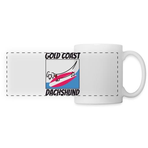 Gold Coast Dachshund - Panoramic Mug