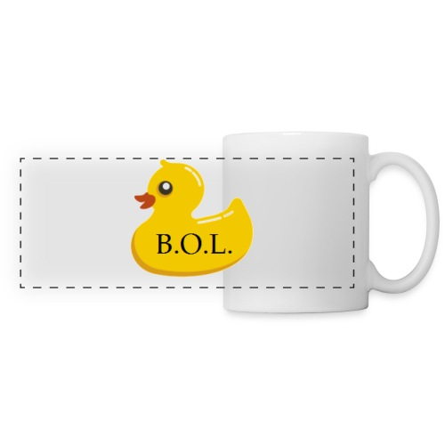 Official B.O.L. Ducky Duck Logo - Panoramic Mug
