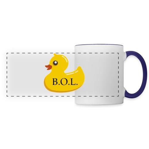 Official B.O.L. Ducky Duck Logo - Panoramic Mug