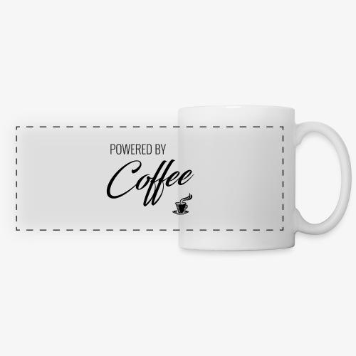 Powered by Coffee - Panoramic Mug