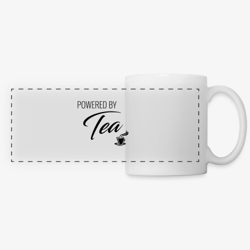 Powered by Tea - Panoramic Mug