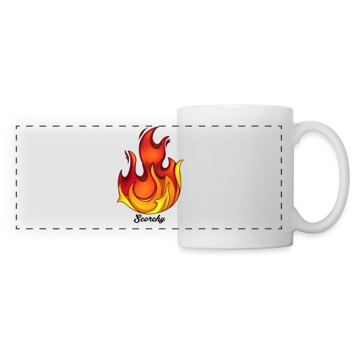 Scorchy Logo Black - Panoramic Mug