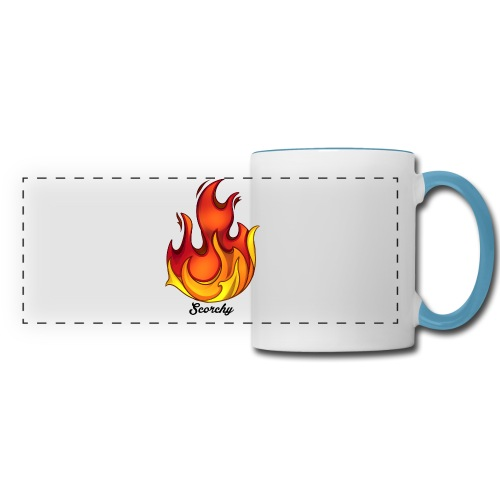 Scorchy Logo Black - Panoramic Mug