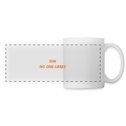 NO one cares - Panoramic Mug