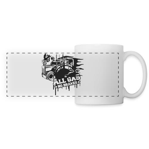 All Gas no Brakes - Panoramic Mug