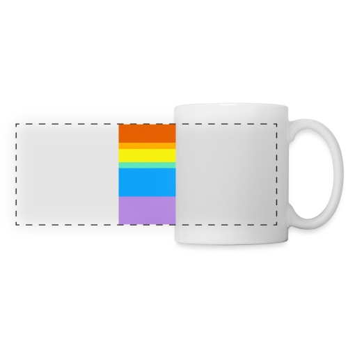Modern Rainbow - Panoramic Mug