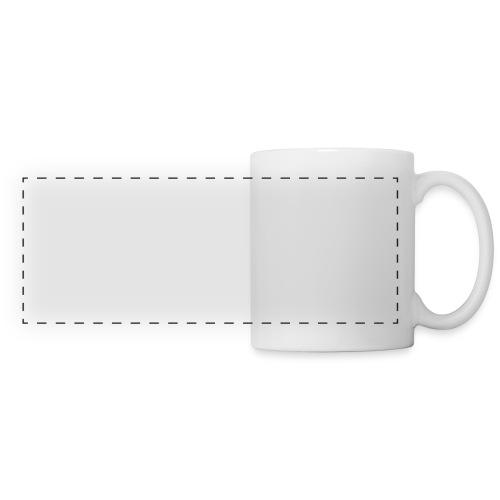 amplify logo // white - Panoramic Mug