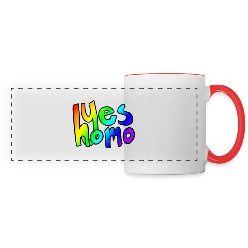 Yes Homo (Rainbow) - Panoramic Mug