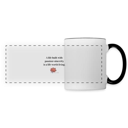 A Life Built - Do Five Things A Day - Panoramic Mug