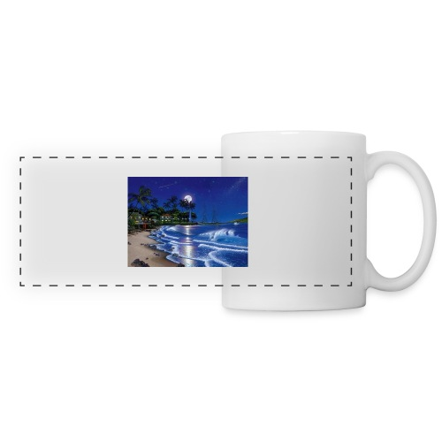 full moon - Panoramic Mug