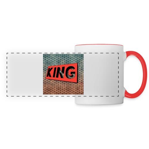 kingcreeper7972 logo - Panoramic Mug