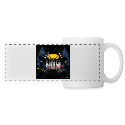 ones wolverine was a king!! - Panoramic Mug
