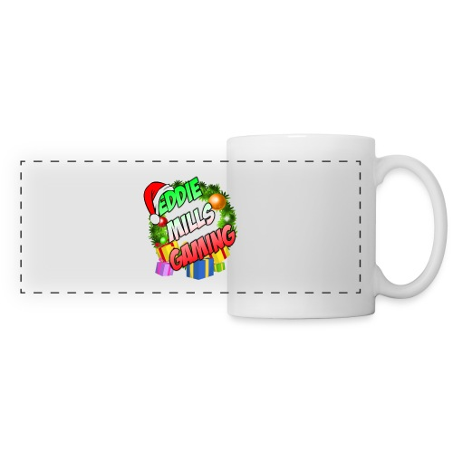 Eddie Mills Christmas - Panoramic Mug