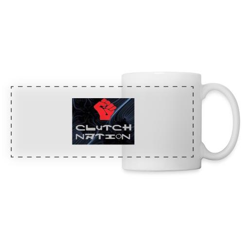 clutchnation logo merch - Panoramic Mug