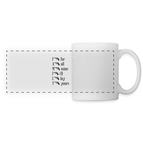Family is important - Panoramic Mug