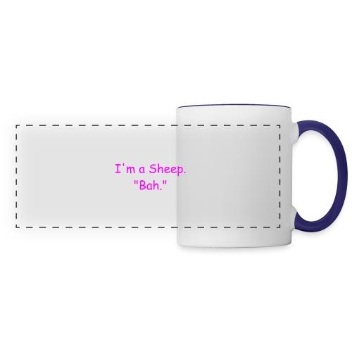 I'm a Sheep. Bah. - Panoramic Mug