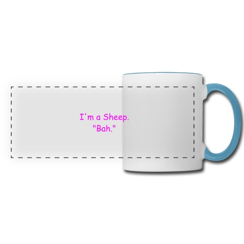 I'm a Sheep. Bah. - Panoramic Mug