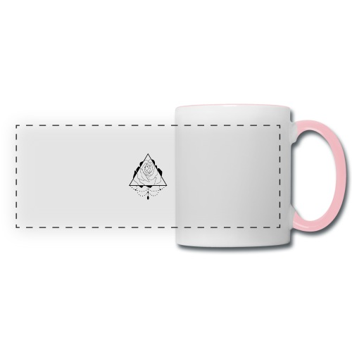 black rose - Panoramic Mug