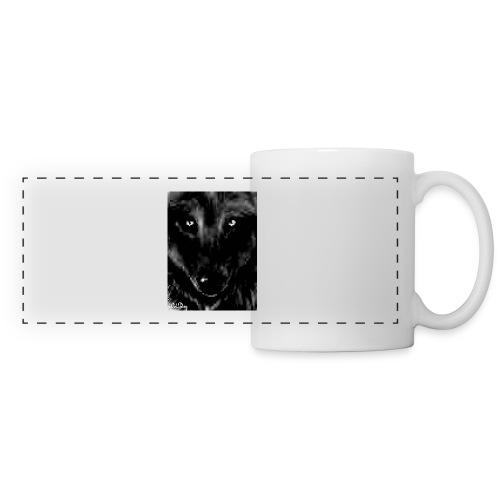 PixelatedWolfDogEyes - Panoramic Mug