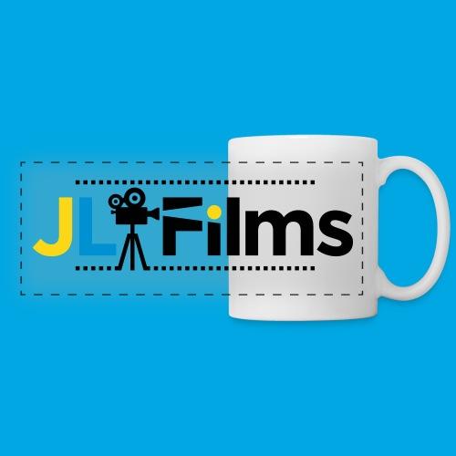 JL Films Logo Black - Panoramic Mug