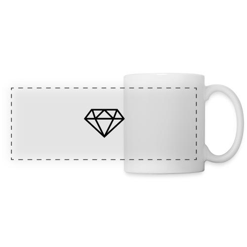 diamond outline 318 36534 - Panoramic Mug