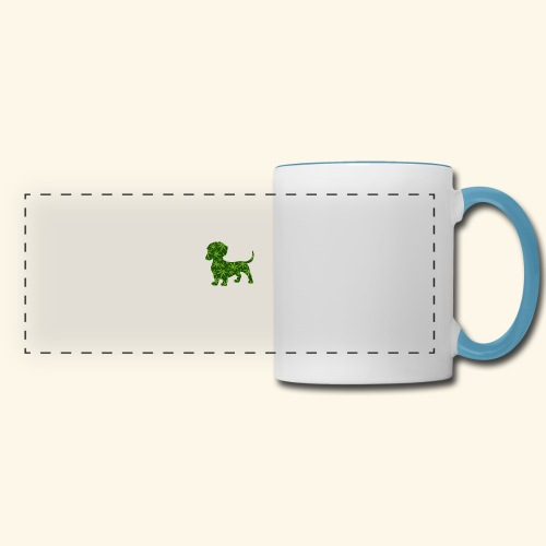 PUFFY DOG - PRESENT FOR SMOKING DOGLOVER - Panoramic Mug