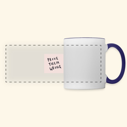 show em what you about - Panoramic Mug