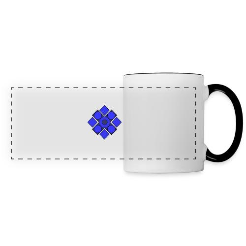 Geometric Cerulean - Panoramic Mug