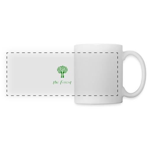 genealogy family tree forest funny birthday gift - Panoramic Mug