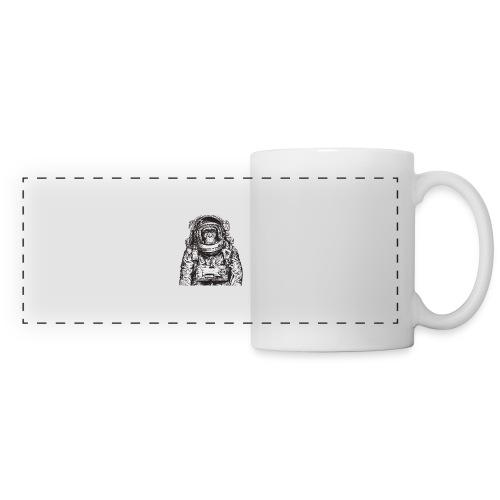 Monkey Astronaut - Panoramic Mug