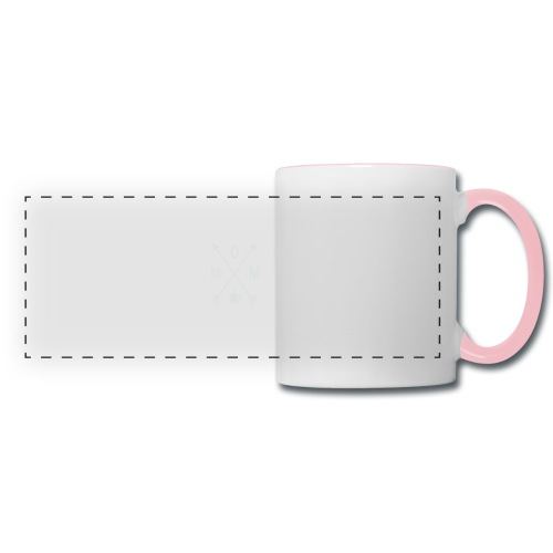 Mom Loves Coffee - Panoramic Mug