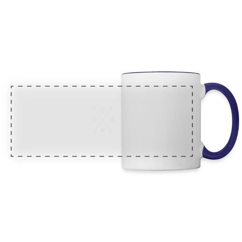 Mom Loves Coffee - Panoramic Mug