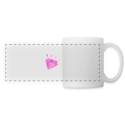 Watercolor Diamond - Panoramic Mug