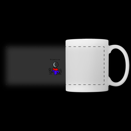 It's just cup who cares - Panoramic Mug