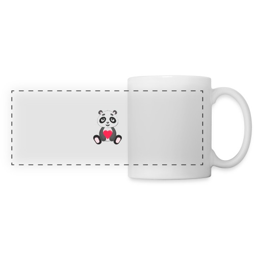 Sweetheart Panda - Panoramic Mug