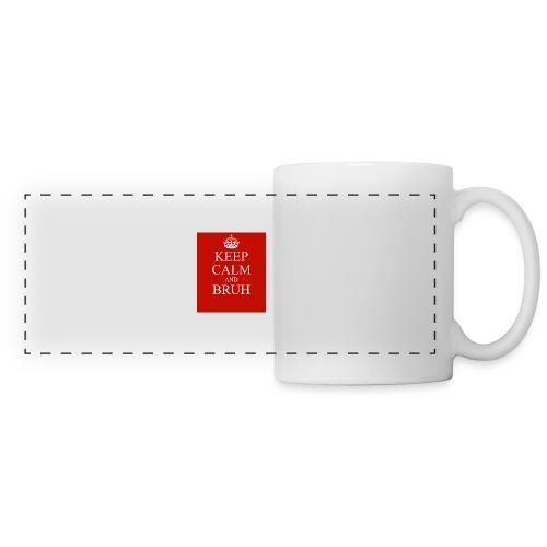 DP Branded-Keep Calm And Drink Bruh - Panoramic Mug